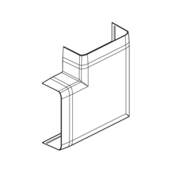 Product Drawing 20 x 74 Angle plat ABS