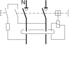 Circuit Drawing Interrupteurs différentiels bipolaires type A