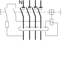 Circuit Drawing Tétrapolaires type AC