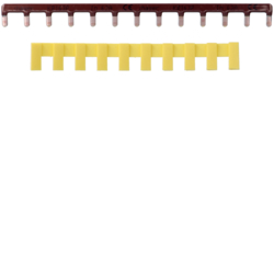 KB163P Barre pontage 1P lang. 10mm² marron 13M