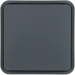WNT902 1 touche Cubyko KNX Gris