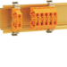 K89300 Mini Borne sur rail DIN 2,5², Orange