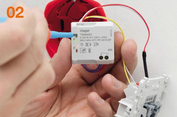 micromodules domotiques radio micro modules coviva volet roulant eclairage. Black Bedroom Furniture Sets. Home Design Ideas